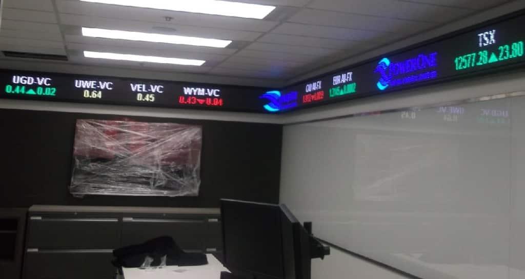 Indoor Digital Ticker Displays